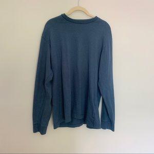 Basic Editions Blue Crewneck Sweatshirt